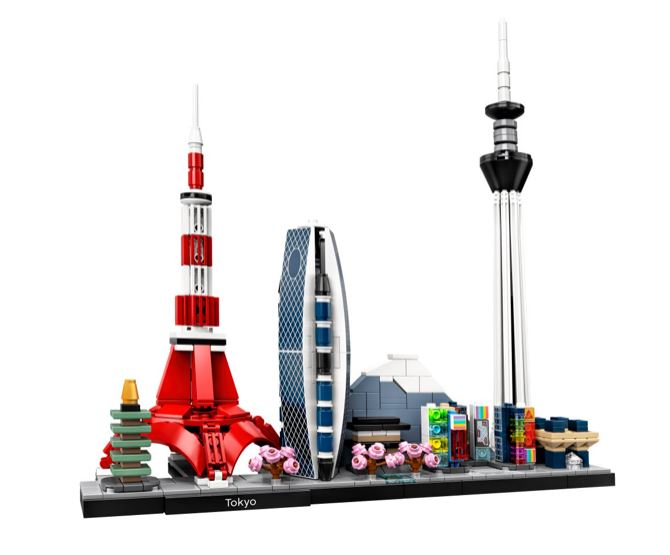 Tokyo Architecture Set by LEGO