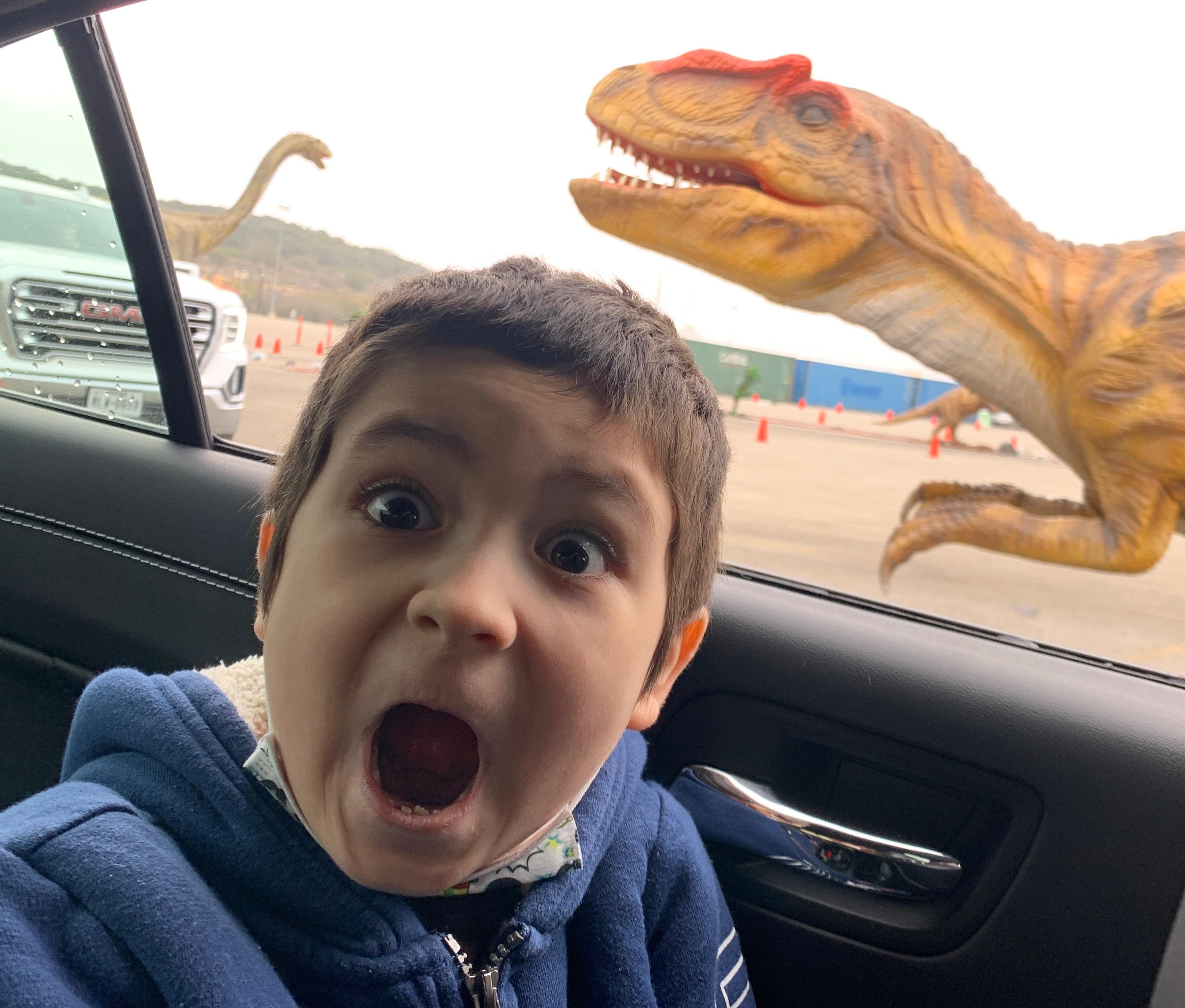 Dinosaur Drive-Thru: Family Adventures