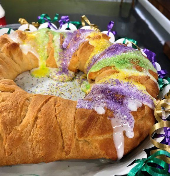 mardi gras king bread